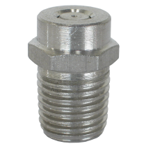 0° Stainless Steel Pipe Threaded Nozzle - Size 5