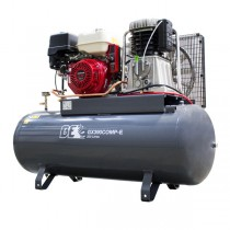 Honda GX390 200L Electric Start Petrol Air Compressor GX390COMP-E