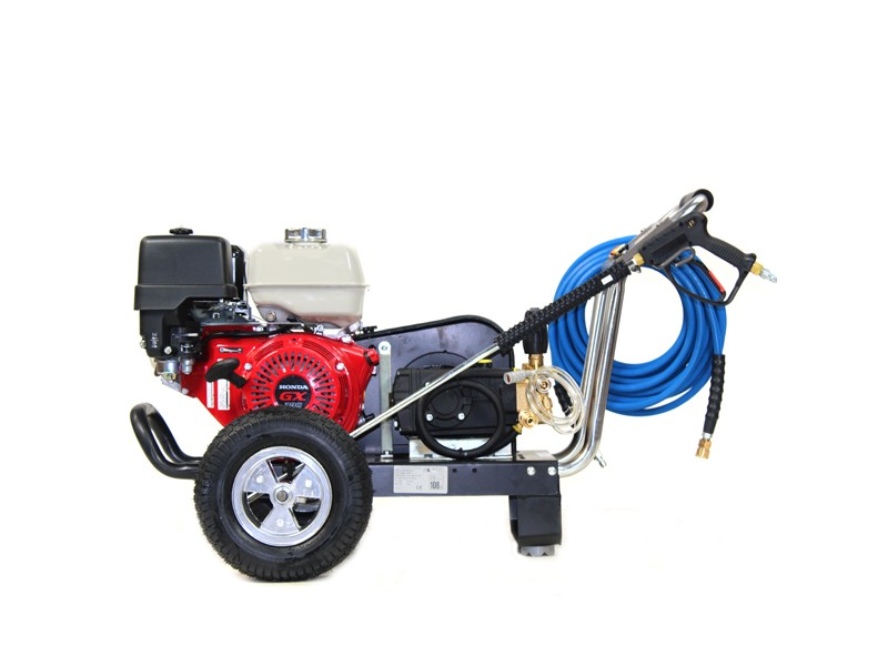 ... Side View Of Honda Pressure Washer ...