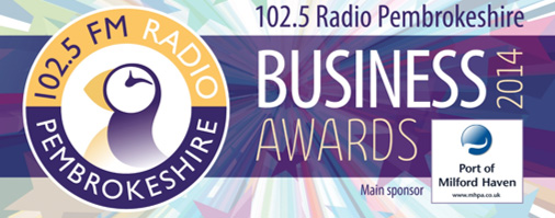102.5 Radio Pembrokeshire Business Awards 2014